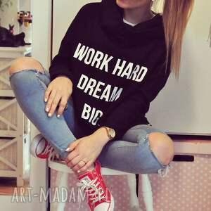 wyjątkowe bluzy redmasterclothes blogerska bluza z dłuższym tyłem