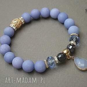 niebieskie bransoletki kamienie ice blue vol. 12 /15.05.16/