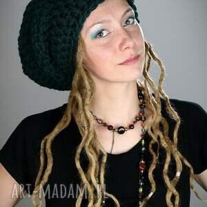 hand made czapki czapka dreadlove mono 17