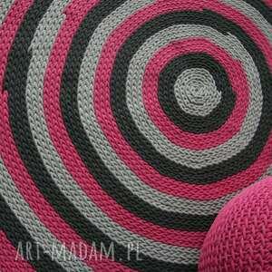 dywany amarantowy dywan średnica 160 cm