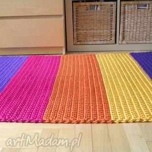 dywany chodnik dywan tęczowy