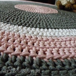 unikatowe dywany dywan ręcznie robiony okrągły ze