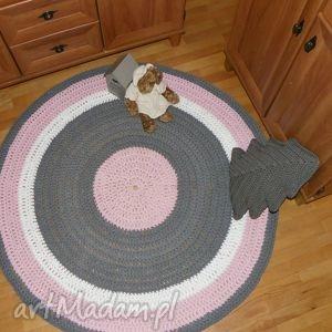 unikatowe dywany rękodzieło ręcznie robiony okrągły dywan ze