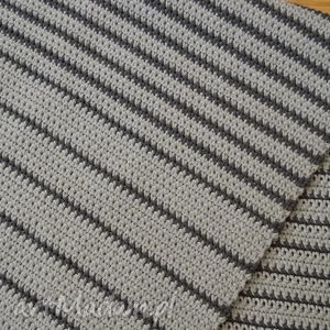 dywan dywany szare paski