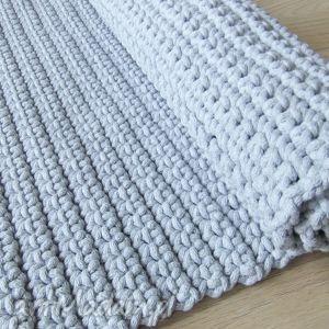 dywany sznurek szary dywan ze sznurka 150 x 200 cm