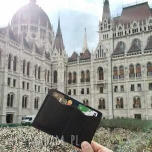 portfel etui na dokumenty (brązowy)