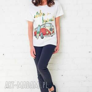 eleganckie koszulki oversize aloha hawaii t-shirt