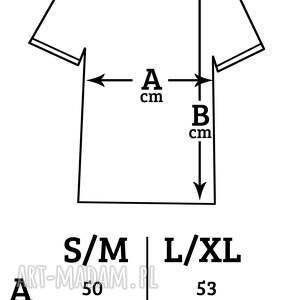 koszulki live your dreams oversize t-shirt