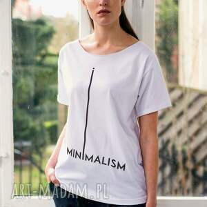 niepowtarzalne koszulki oversize minimalism t-shirt
