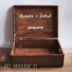 unikalne księgi gości pudełko skrzynia na koperty ślubne lub