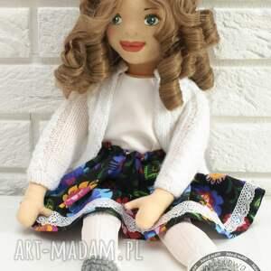 białe lalki handmade lalka ręcznie szyta matylda