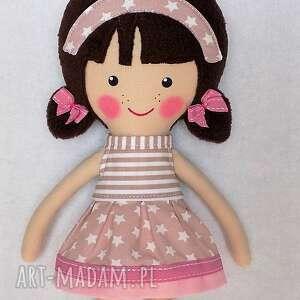 lalki prezent malowana lala patrycja z wełnianym