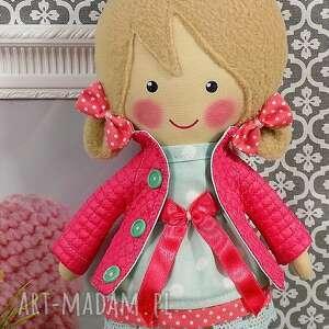 hand-made lalki zabawka malowana lala iga z wełnianym