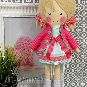 zabawka lalki malowana lala iga z wełnianym