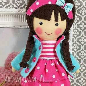różowe lalki zabawka malowana lala melania w