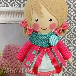 lalki zabawka malowana lala iga z wełnianym