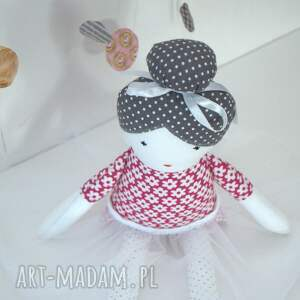 modne lalki lalka róża - baletnica