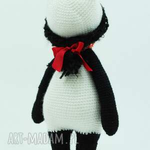 niepowtarzalne lalki lalka szydełkowa panda jak