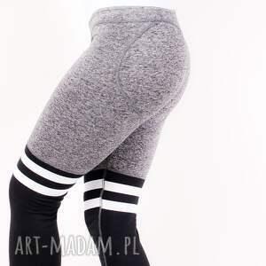 gustowne legginsy zpaskami wyszczuplające elastyczne
