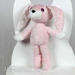 różowe maskotki królik króliczka mimi