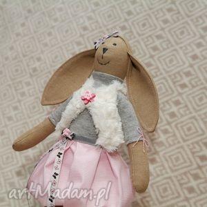 hand-made maskotki królik żona marynarza