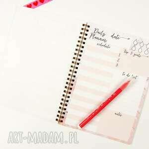 nietypowe notesy notes marmurowy notes, dzienny a5