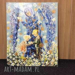 gustowne obrazy 4mara anioł stróż dzieci 100x80cm