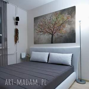 handmade obrazy drzewo obraz na płótnie - liście