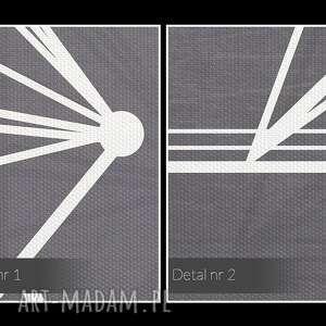 obrazy geometryczny obraz na płótnie - linie krzywe