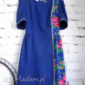 klasyczna sukienka Folk Design Aneta Larysa Knap, folk