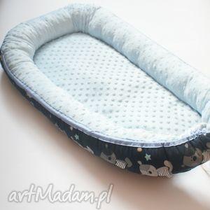 kokon niemowlęcy, kokon, dziecko, łóżeczko, minky, bawełna pokoik dziecka dla