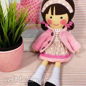 dollsgallery malowana lala patrycja, lalka, zabawka, przytulanka, prezent