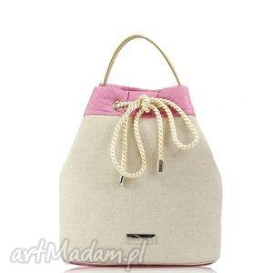 pod choinkę prezenty, na ramię torebka taszka simple 149, torebka, lniana, lato