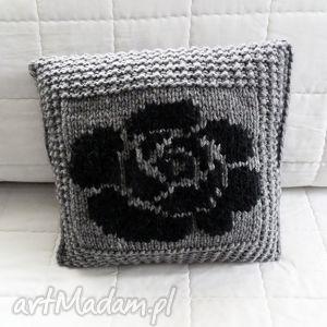 poduszki poduszka robiona ręcznie wełna 40x40 cm 1szt, poduszki, poduszka