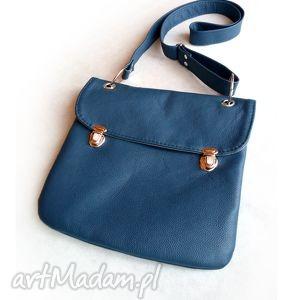 Prl Mała granatowa torba, granat, niebieski, mała, torebka