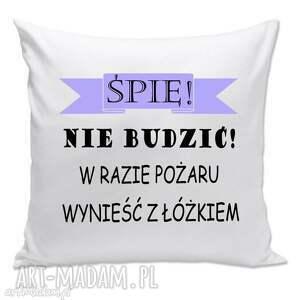 poduszki poduszka - śpię, nie budzić , poduszka, prezent, śpioch, leń dom