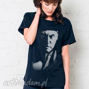 witkacy portrait oversize t-shirt, oversize, tshirt, czarny, bawełna, moda, casual