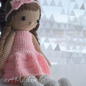 Prezent Lala Alicja Różowa, lala, lalka, zabawki, urodziny, roczek, prezent