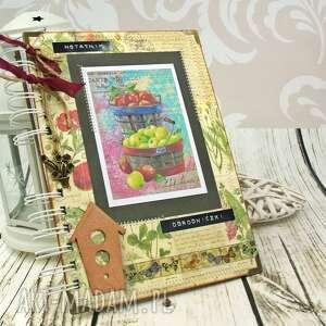 notatnik ogrodniczki, ogród, notes, notatnik, ogrodowy, zapiśnik, ogrodniczka