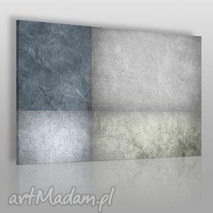 obraz na płótnie - abstrakcja beton - 120x80 cm 35501 - abstrakcja, beton