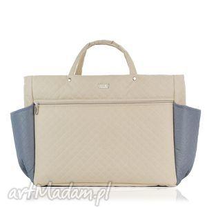 na ramię torebka farbaby z kieszeniami 745, duża, torba, mama, wózek, pojemna, lekka