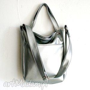 miniks srebro vege, vegan, srebro, kosmos, wiosna, torba na ramię torebki
