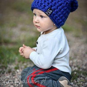 Czapka Monio 11, czapka, szydełko, wełna, włóczka, dziecko, zima