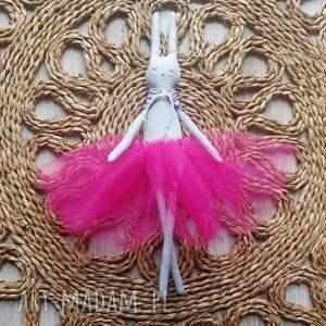 króliczek baletnica, króliczek, bunny, tiulowa, kolorowa, tilda lalki