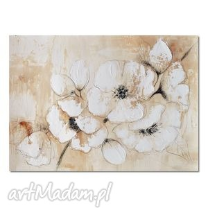 Kwiat wiśni, nowoczesny obraz do salonu, obraz, nowoczesny, do, kwiaty, retro