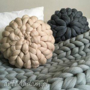 Wełniana poduszka 100% wełna merynosów, poduszka, wełna, pillow, chunkypillow, merino