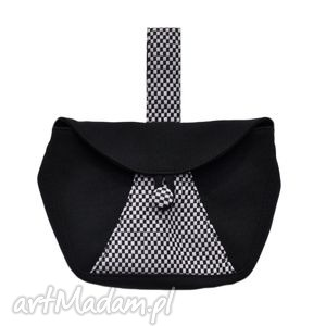 04-0009 czarna torebka kopertówka elegancka do ręki cuckoo, oryginalne, markowe