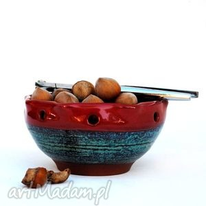 tilajtówka iii- ceramiczna miseczka, świecznik, użytkowe