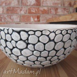 ceramika maxi misa, miska, ceramiczna, minimalistyczna, dekoracyjna