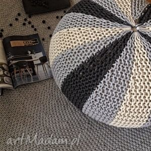 knitting factory poducha , siedzisko pufa zu, puf, pufa, loft, scandi, homdecor